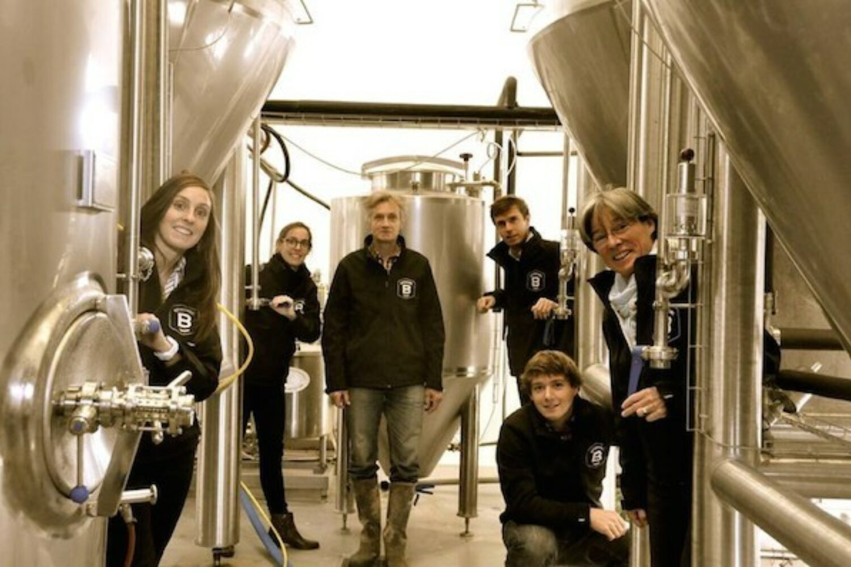 Bertinchamps branded beer family made in belgium locally