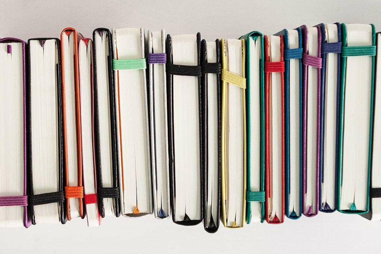 Branded notebook moleskine made ethically for Merchery