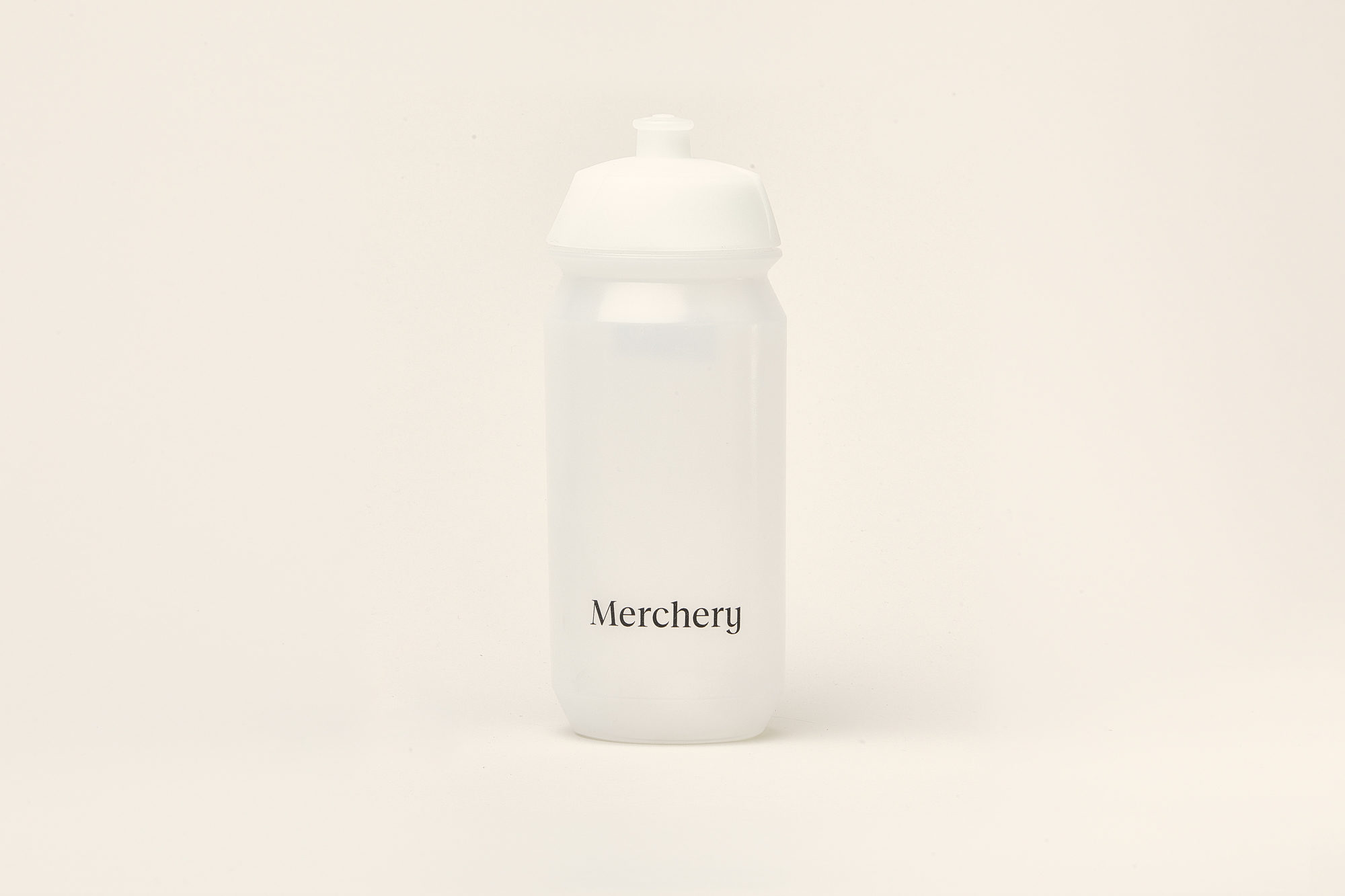 Merchery customized cycling bio bottle white eco friendly branded bottle