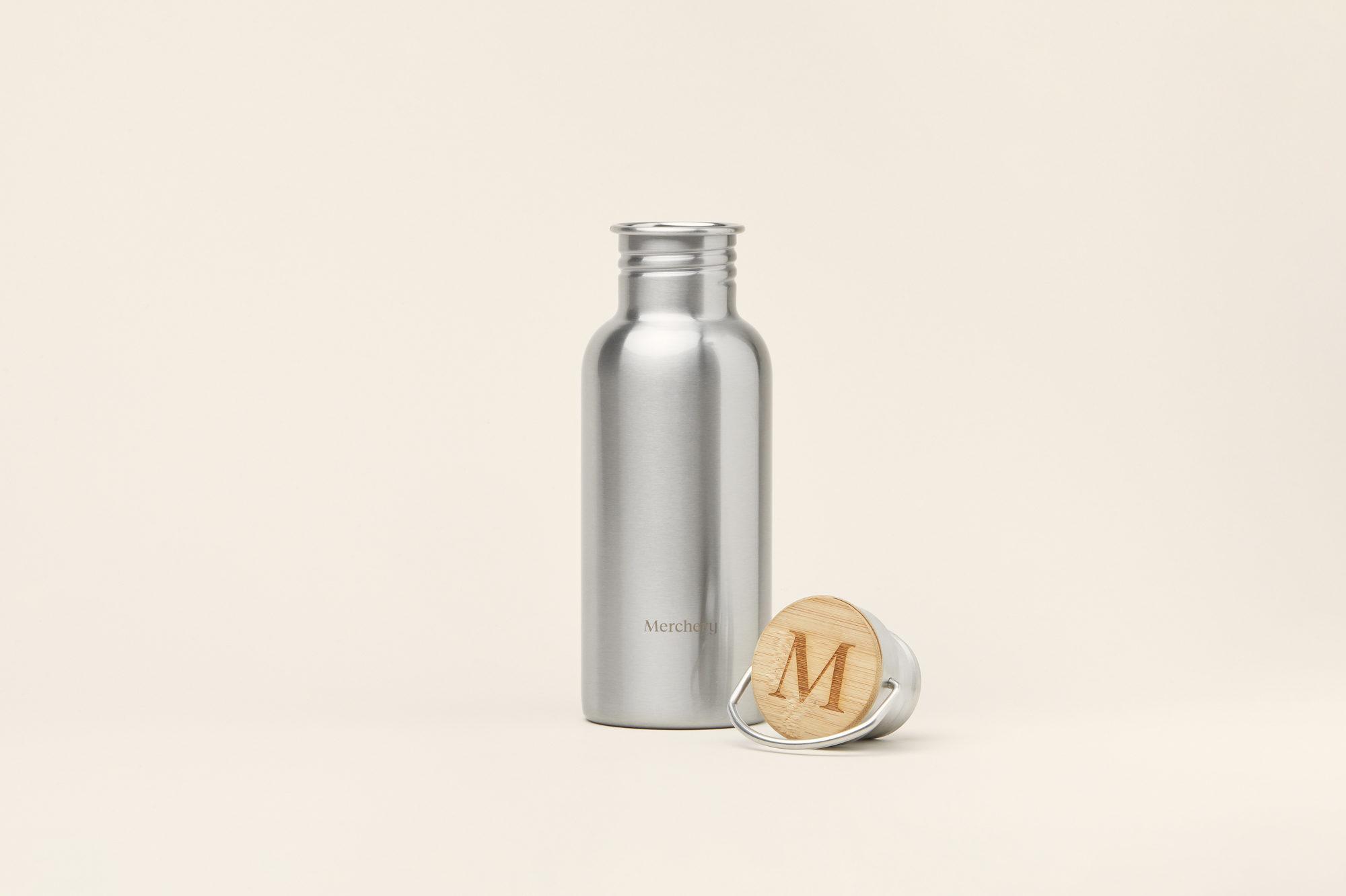 Stainless Steel Bottle - Sustainable Corporate Gift - Merchery
