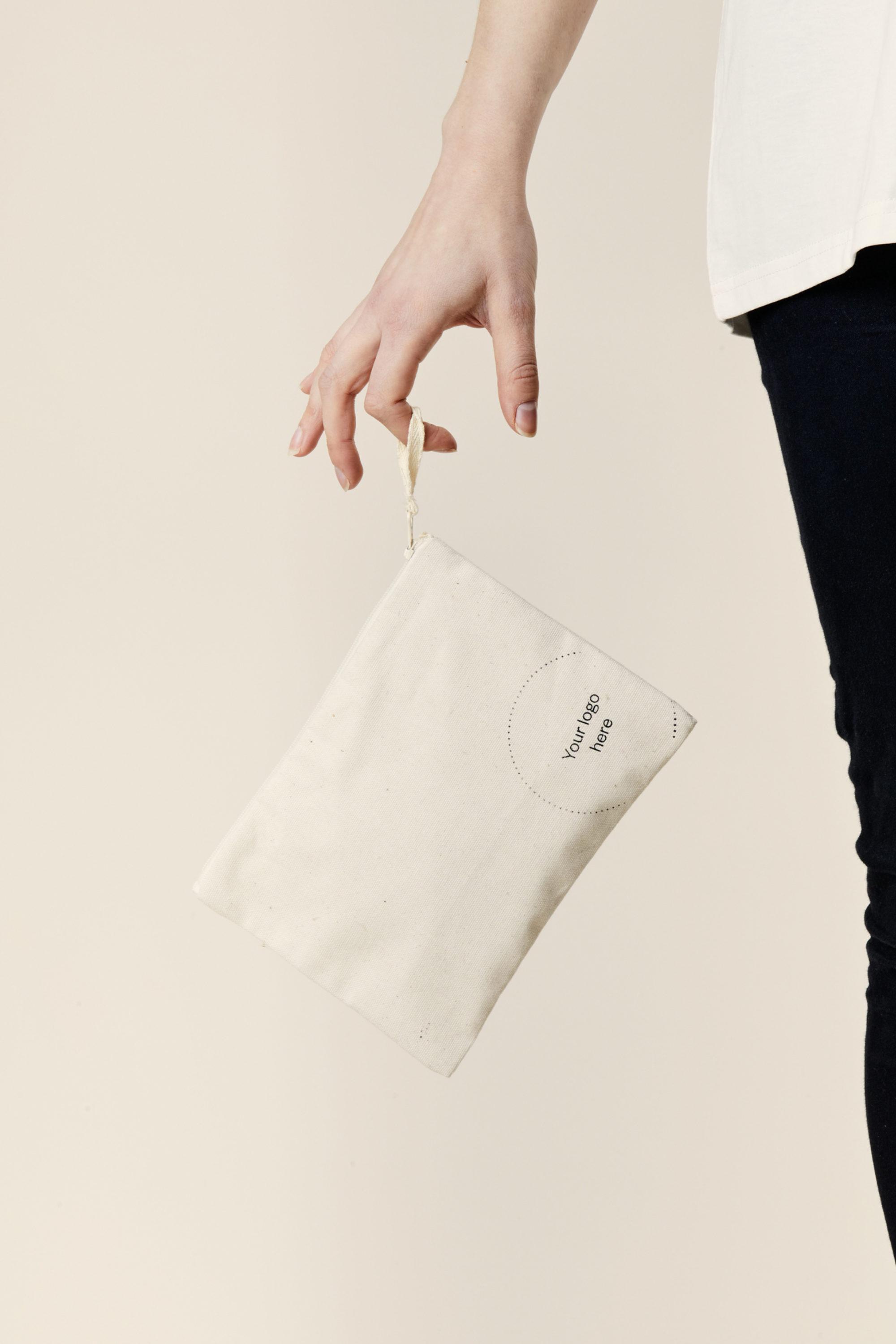 Merchery white pencil case branded promotional item