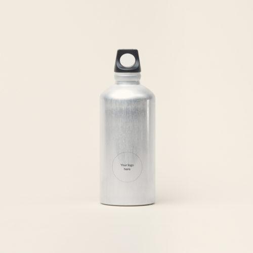 Merchery branded gift aluminium customized bottle 0.6L