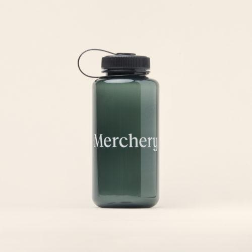Merchery branded plastic bottle 1L dark