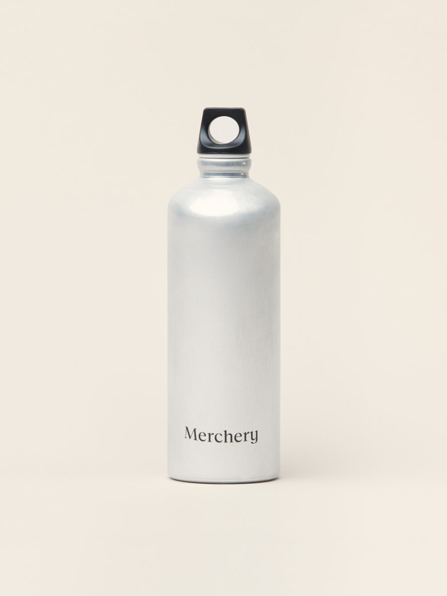 Merchery branded gift aluminium customized bottle 0.75L