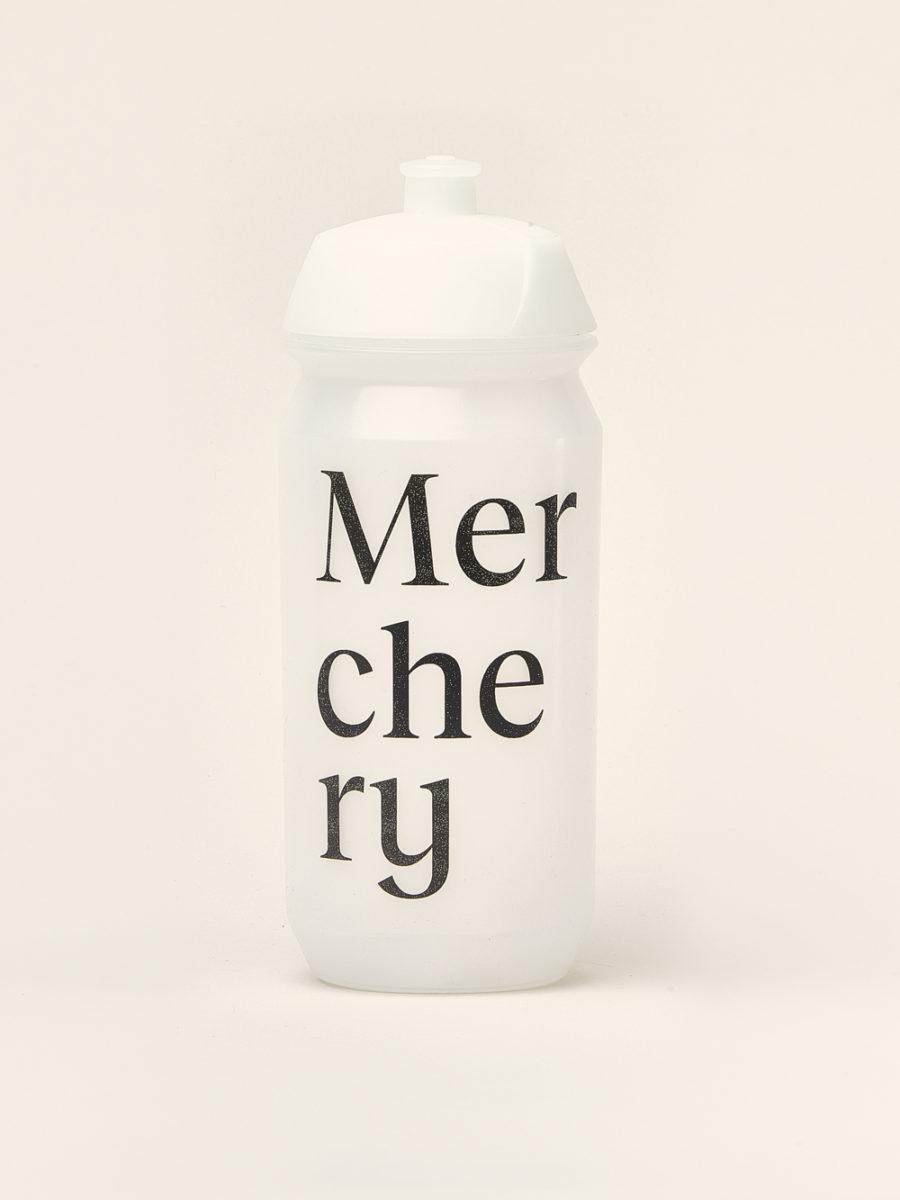 Merchery customized cycling bio bottle white eco friendly sustainable branded bottle