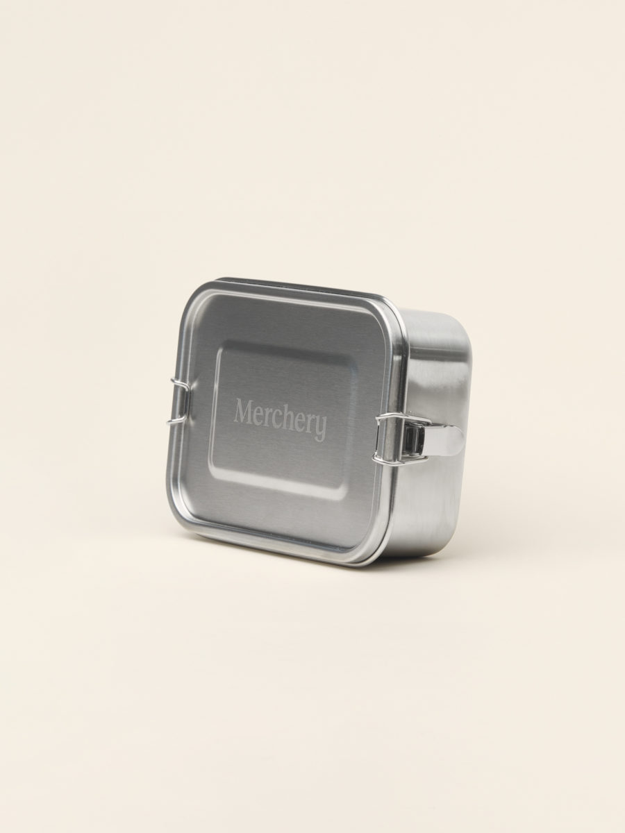 Metal Lunch Box Customizable - Sustainable Branded Gift - Merchery