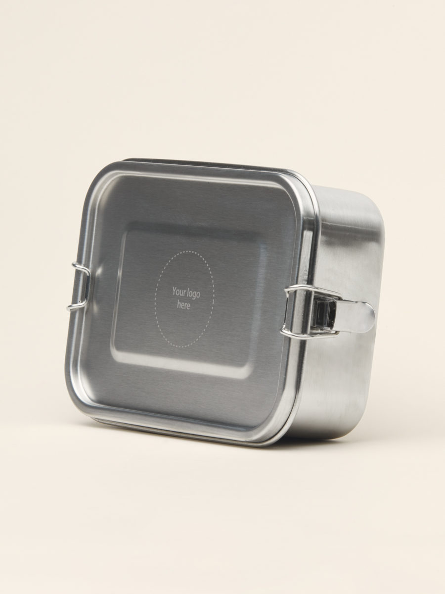 Customized Metal Lunch Box - Promotional Gift - Merchery