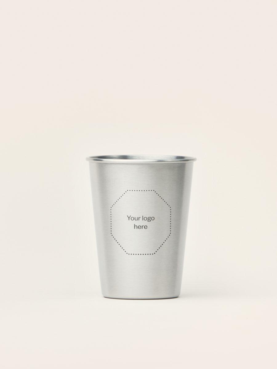 Steel Coffee Mug - Sustainable Business Gift - Merchery