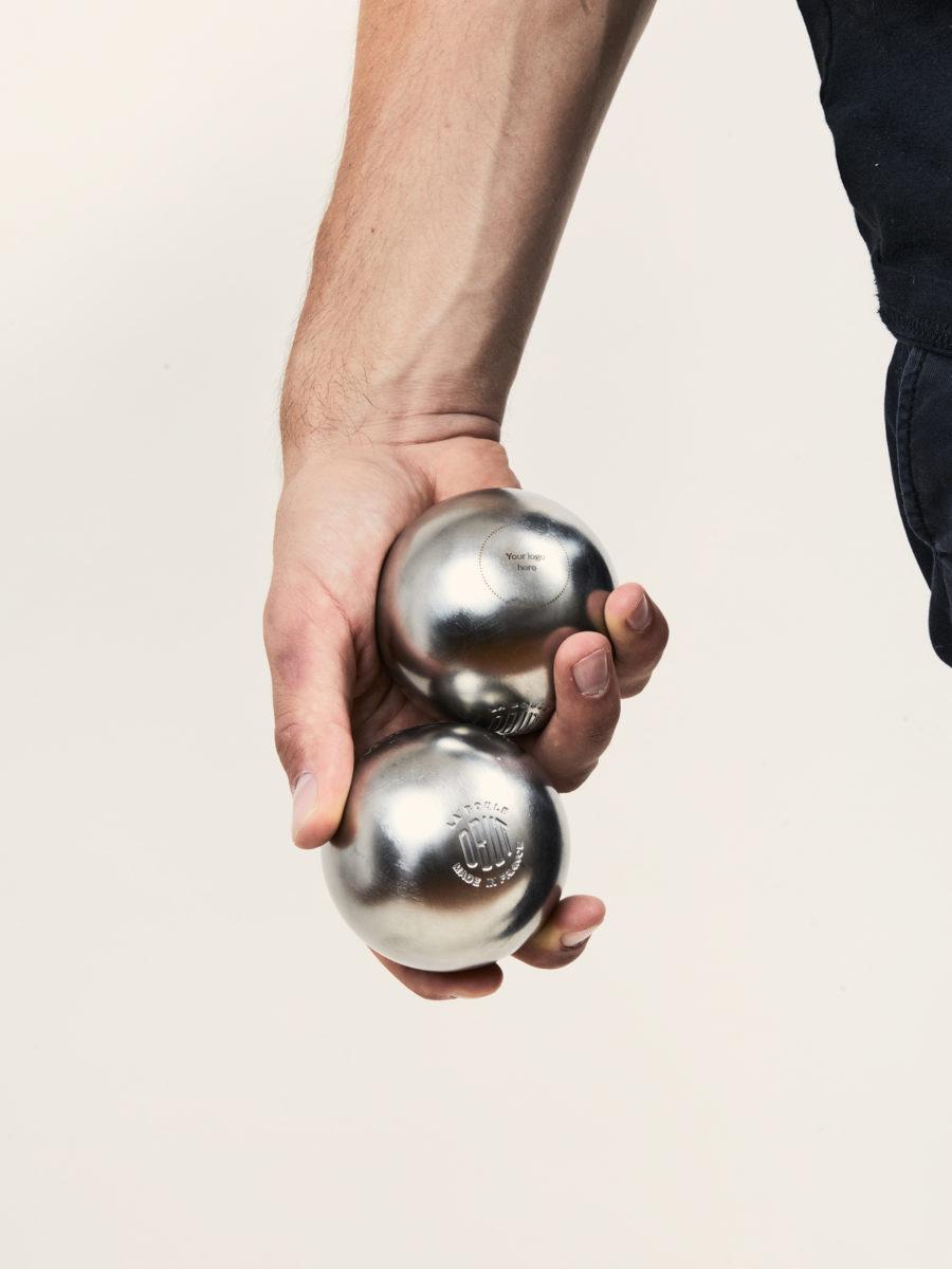 Engraved OBUT Petanque Set - Premium Corporate Gift - Merchery